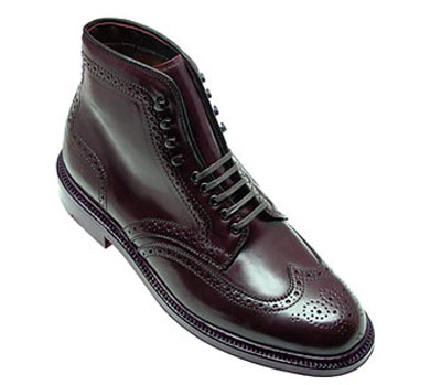 Cordovan Wing Tip Boot