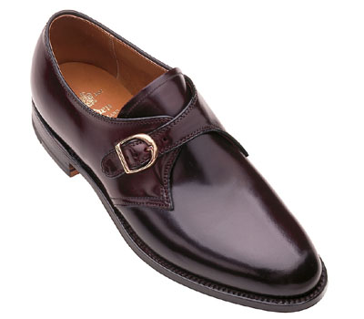 Cordovan Monk Strap Oxford