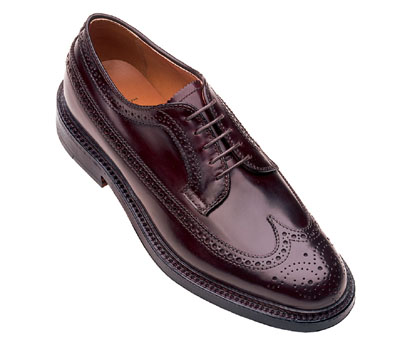 Cordovan Long Wing Blucher