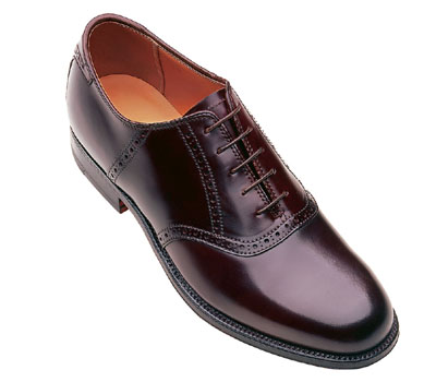 Cordovan Traditional Saddle Oxford