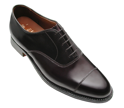 Cordovan Straight Tip Bal Oxford