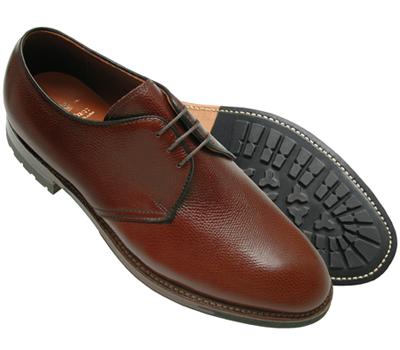 3 Eyelet Plain Toe Blucher